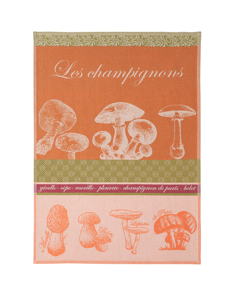 Coucke Mushrooms Tea Towel - Lothantique Canada