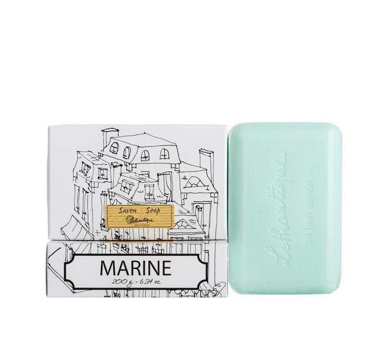 Lothantique 200g Bar Soap Marine - Lothantique Canada