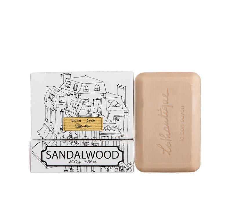 Lothantique 200g Bar Soap Sandalwood