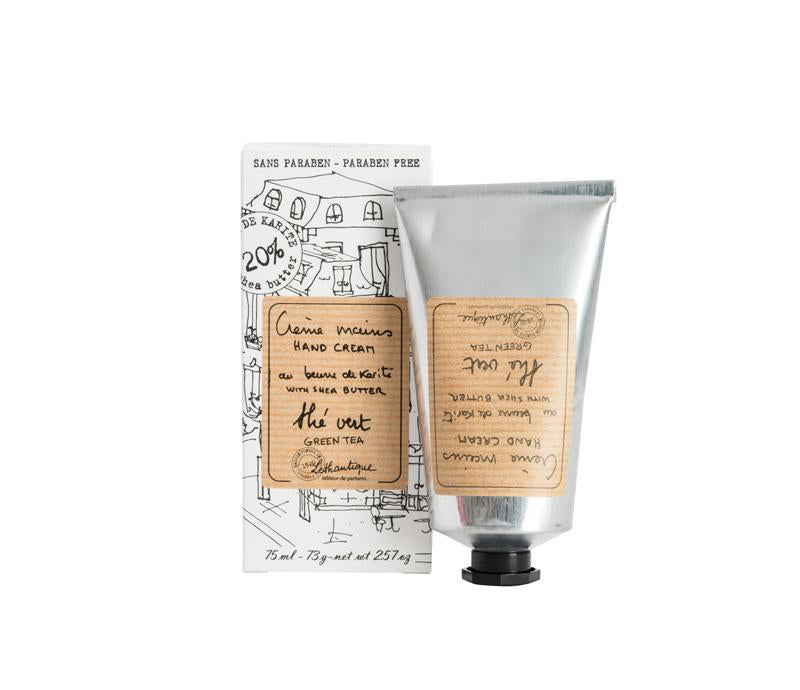 Lothantique 75mL Hand Cream Green Tea