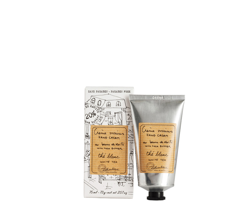 Lothantique 75mL Hand Cream White Tea - Lothantique Canada
