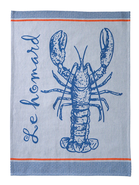Coucke A La Peche PJ Blue Tea Towel