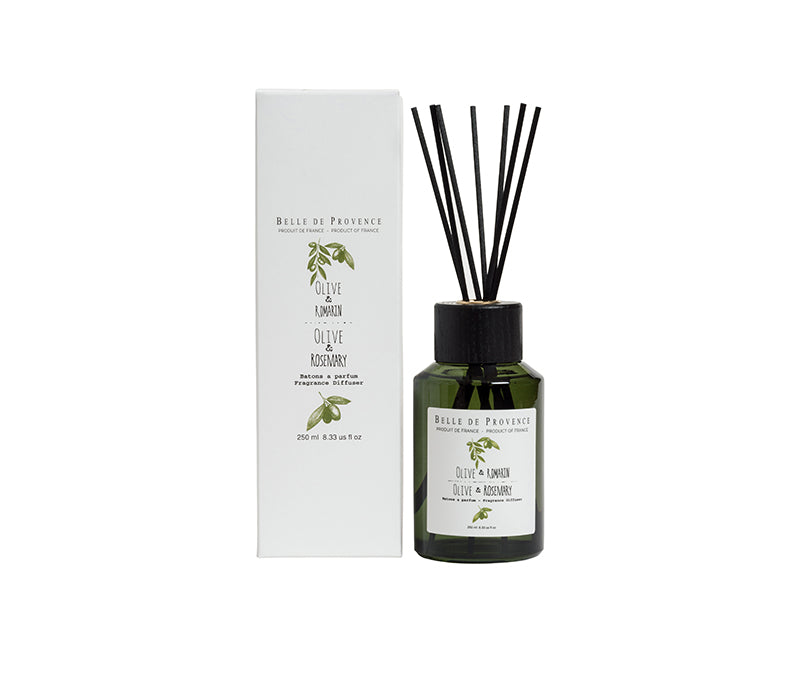 Belle de Provence Olive & Rosemary 250mL Fragrance Diffuser