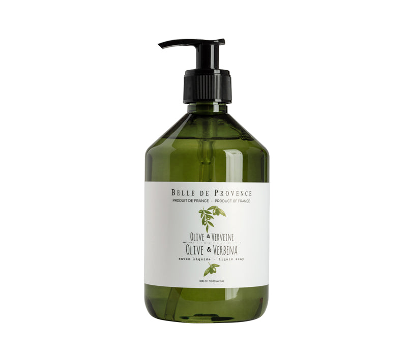 Belle de Provence Olive & Verbena 500mL Liquid Soap
