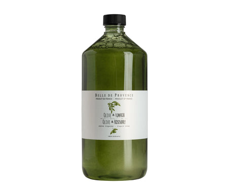 Belle de Provence Olive & Rosemary 1L Liquid Soap - NEW LOOK!