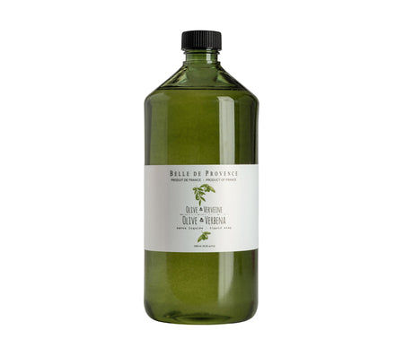 Belle de Provence Olive & Verbena 1L Liquid Soap - NEW LOOK!