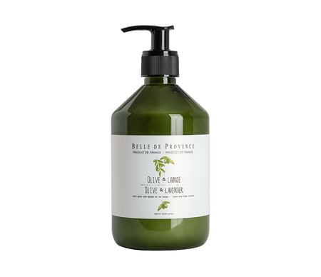 Belle de Provence Olive & Lavender 500mL Hand and Body Lotion
