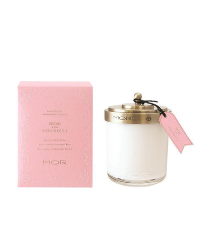 MOR Rose & Patchouli Fragrant Candle