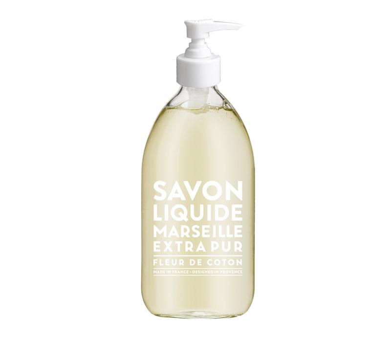 Compagnie de Provence 500mL Marseille Liquid Soap Cotton Flower