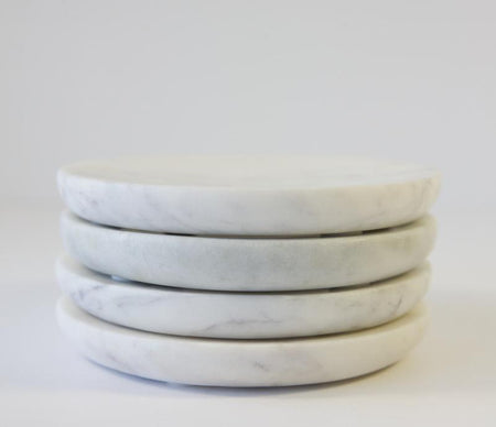 Caravan Marble Small Plates Set of 4