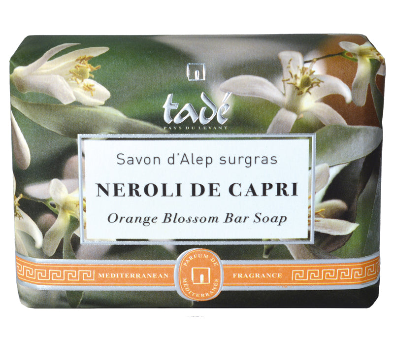 Tadé Mediterraneé Orange Blossom Bar Soap 100g - Lothantique Canada
