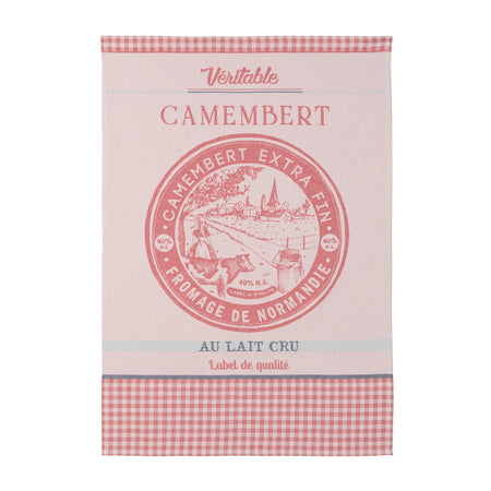 Coucke Veritable Camembert Tea Towel - Lothantique Canada