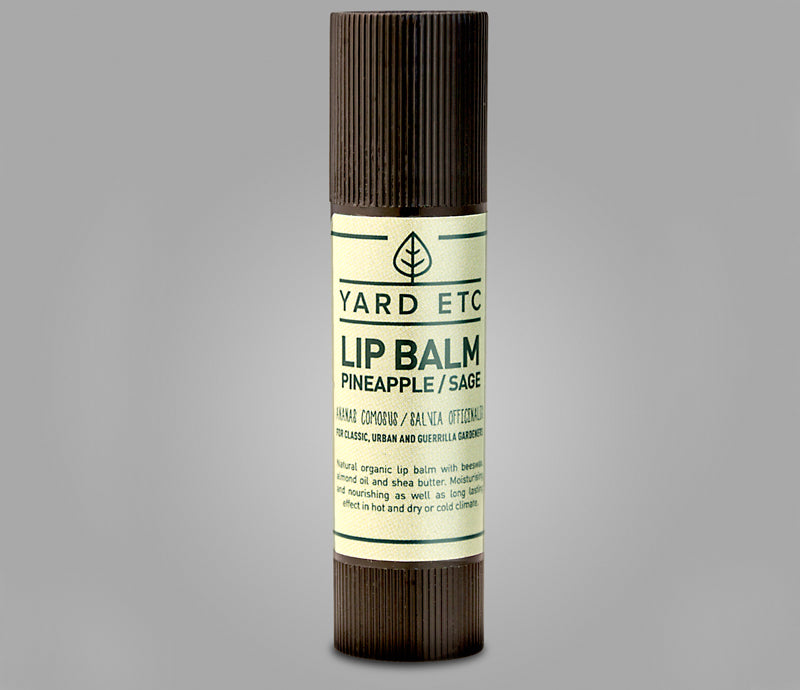 Yard ETC. Lip Balm Pineapple/Sage 10mL