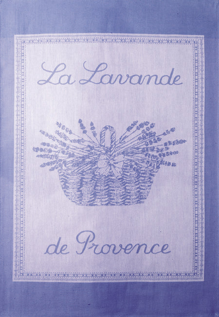 Coucke Lavande Lavender Tea Towel