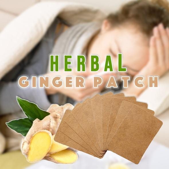 Nutrispot™ Herbal Ginger Detox Patch (Set of 10)