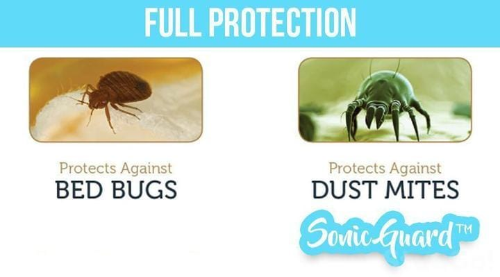 (LAST DAY 60% OFF) - SonicGuard™ Dust Mite + Bed Bug Killer