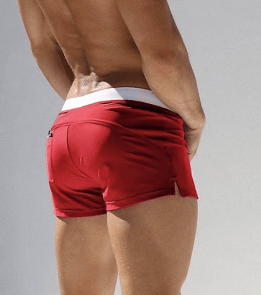 Low Cut Carbenero Swim Trunks