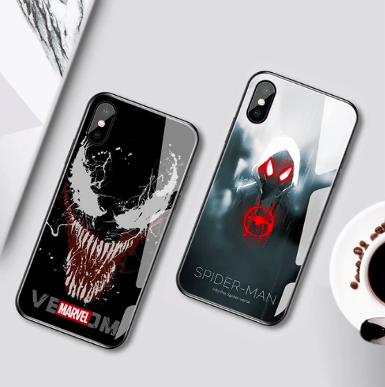 Discount now $20! Superhero Induction Light Phone Case - Super Cool Phone Cases!