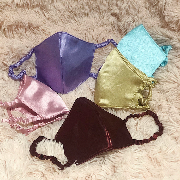 SIMPLE SATIN MASKS