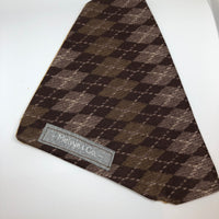 Reversible Brown Argyle