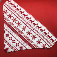 """Christmas Knit"" Bandana"