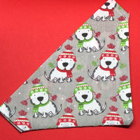 Winter Westie Bandana