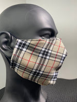 """Burrs Bury"" Premium Tartan Face Covering"