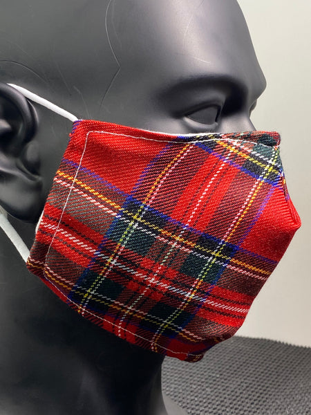 """Royal Stewart"" Tartan LIMITED EDITION Face Covering"