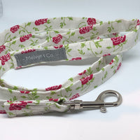"""Kiss From A Rose"" Lead and Matching Bandana Set"