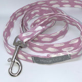 """Paint on Pink"" Dog Lead & Matching Bandana Set"