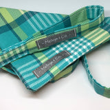 """Fresh Check"" Dog Lead and Matching Bandana Set"