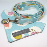 """Fruit Dreams"" Dog Lead & Matching Bandana Set"