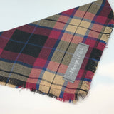 "Fringed ""Country Tartan"" Bandana"