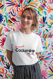 Proud Cockapoo Mum - Ladies Premium T-Shirt