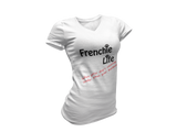 Frenchie Life (Husband Snores) - Ladies Premium T-Shirt