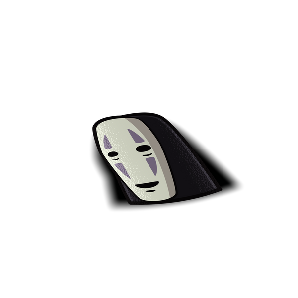 No Face Peeker Sticker - Sticker Kawaii Desu