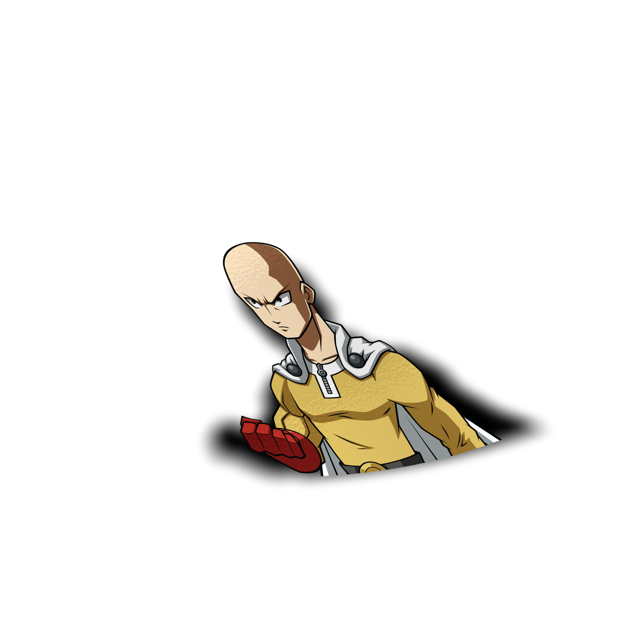 One Punch Man Half Sticker