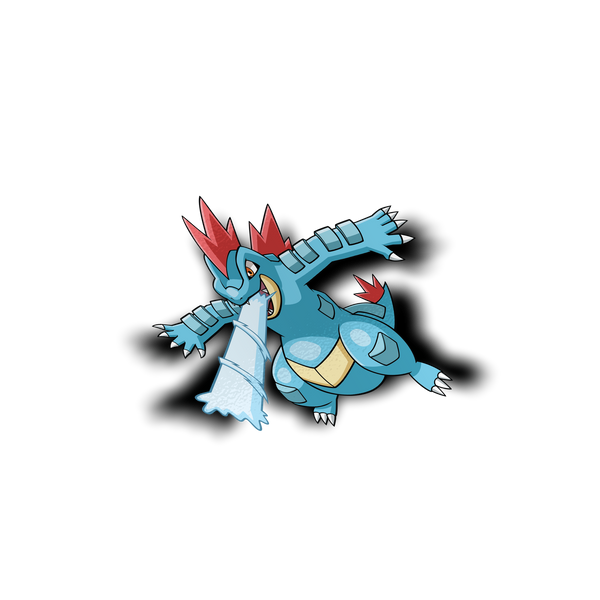 Feraligatr Sticker