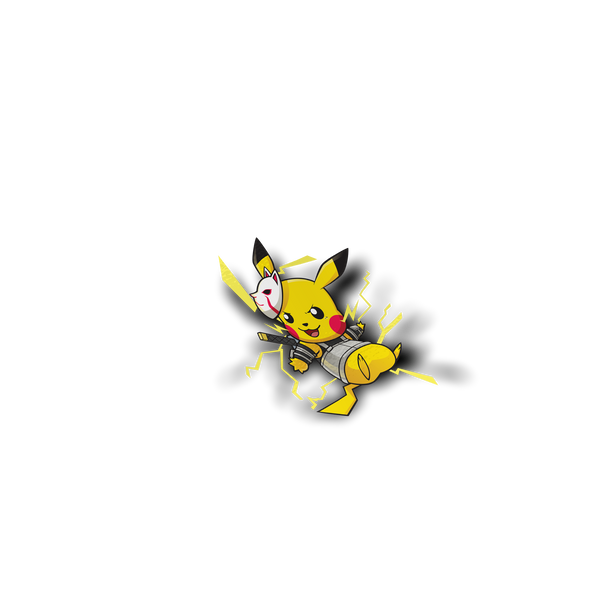 Pikachu x Anbu Full Sticker