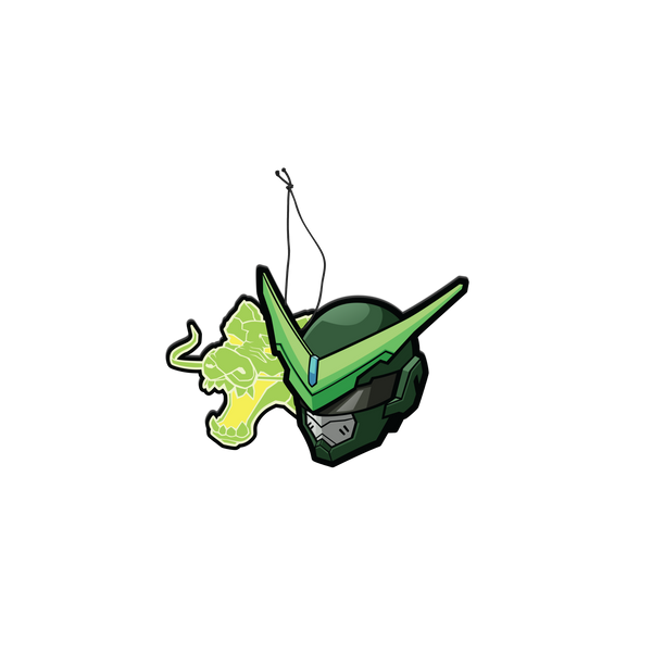 Air Freshener: Genji Sentai Apple Scent - Sticker Kawaii Desu