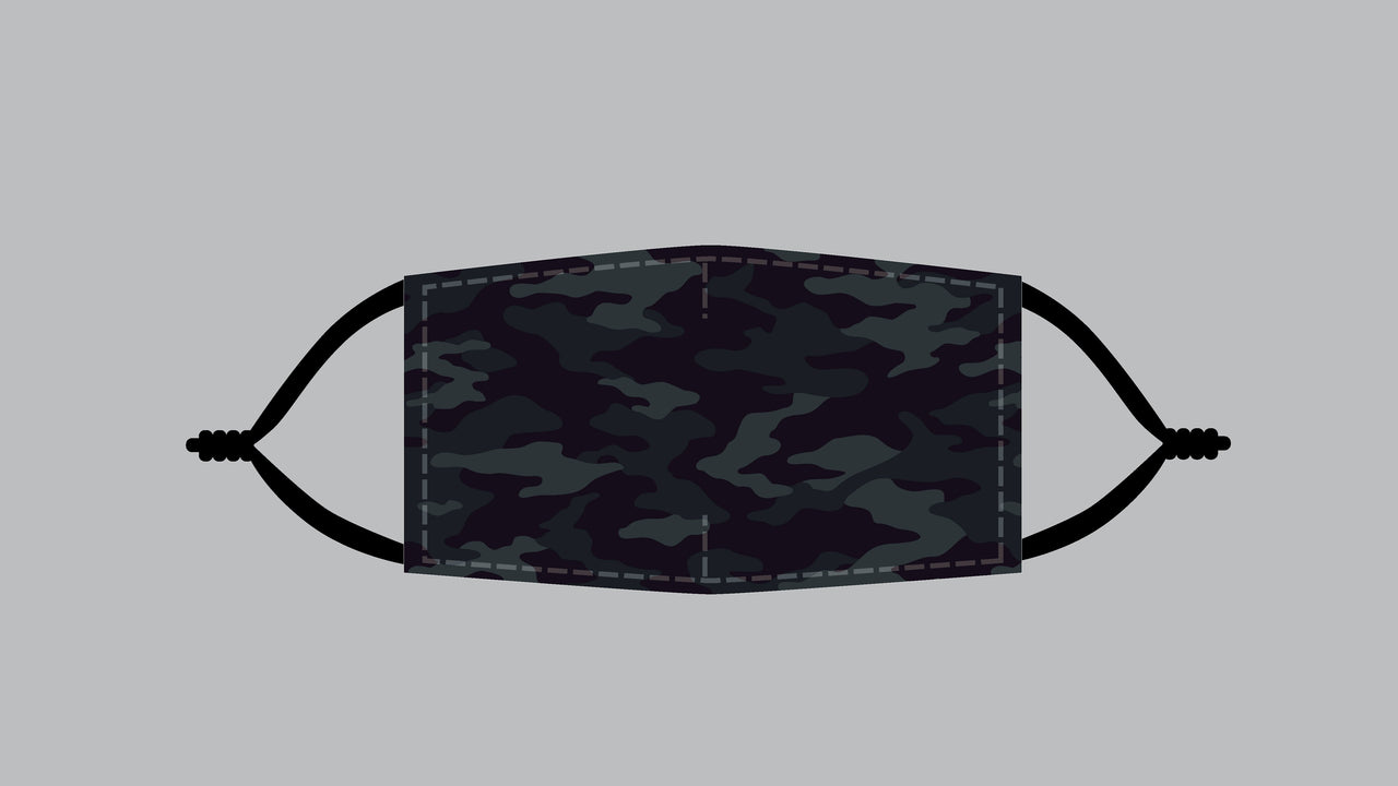 Multicam Black Camo Mask