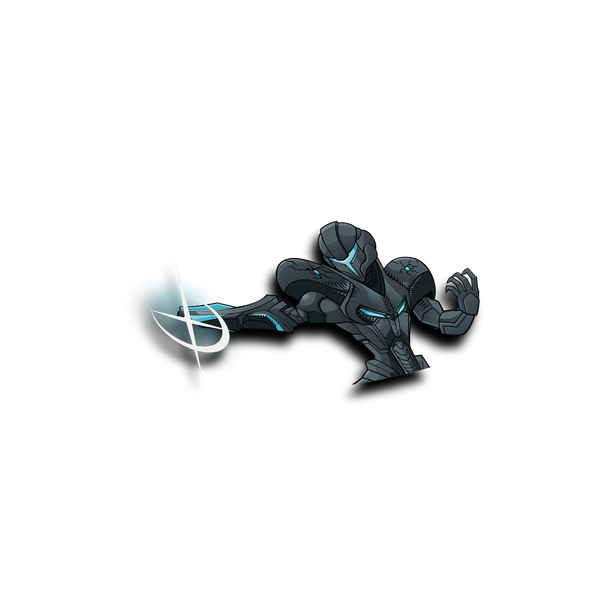 Dark Samus Peeker Sticker