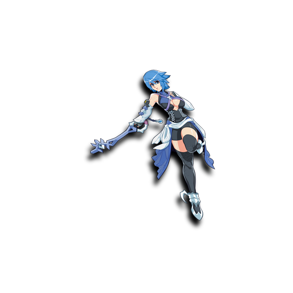KH3 Aqua Waifu Sticker