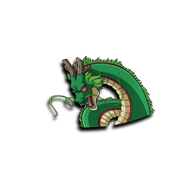 Shenron Peeker Sticker