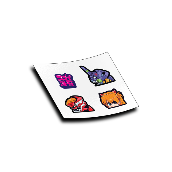 Future Robot Anime Micro Sticker Pack