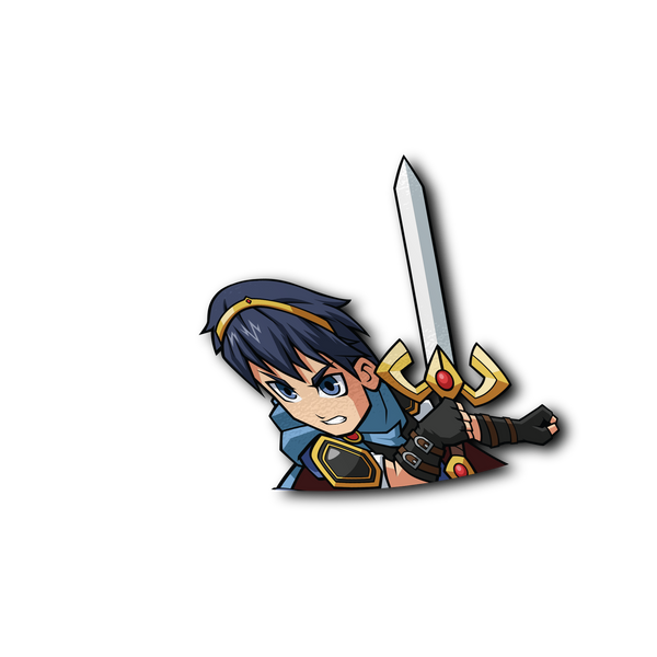 Marth Half Sticker