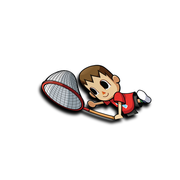 Villager Half Peeker Sticker