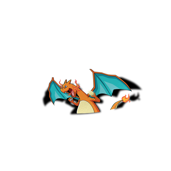 Charizard Peeker Sticker