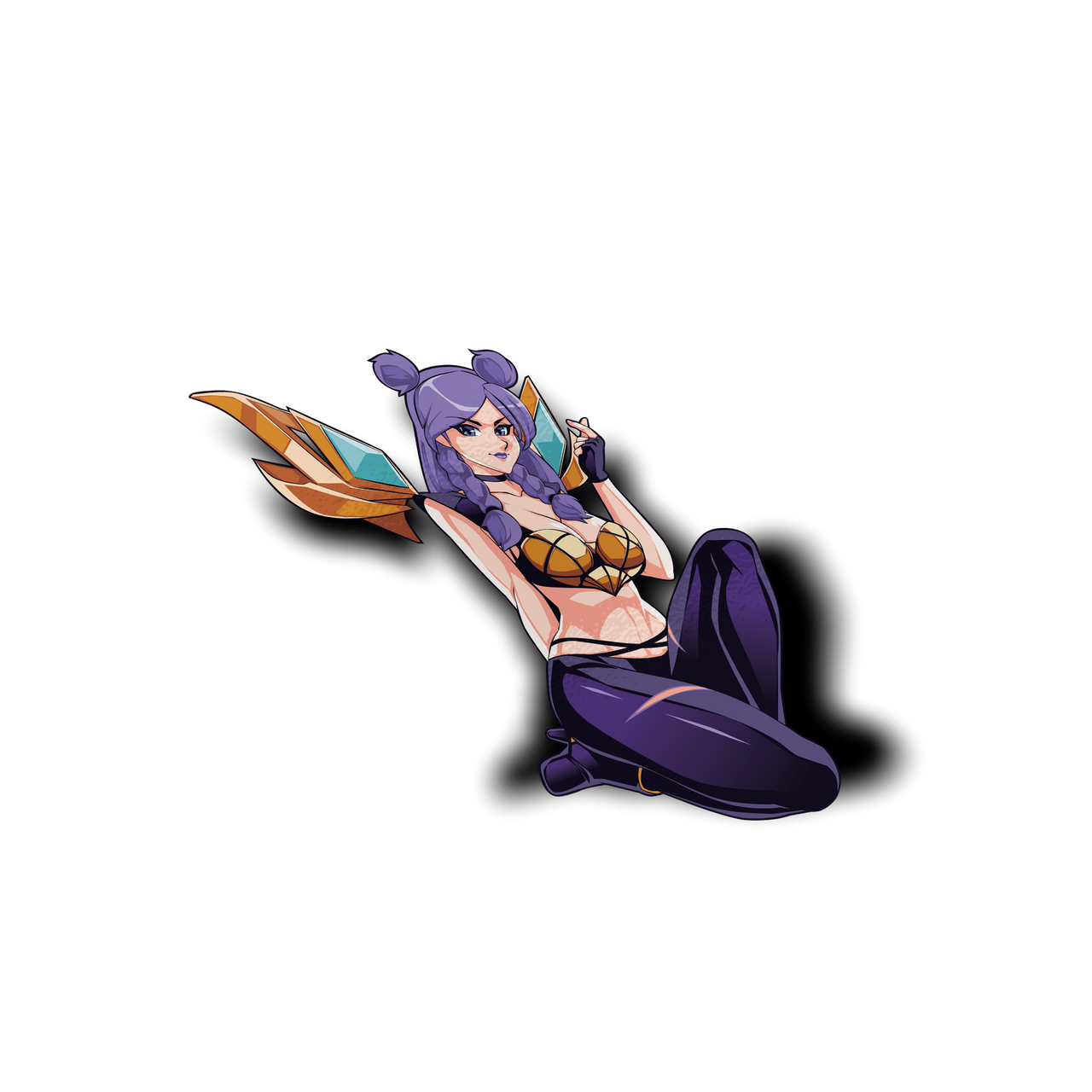Kaisa KDA Waifu Sticker