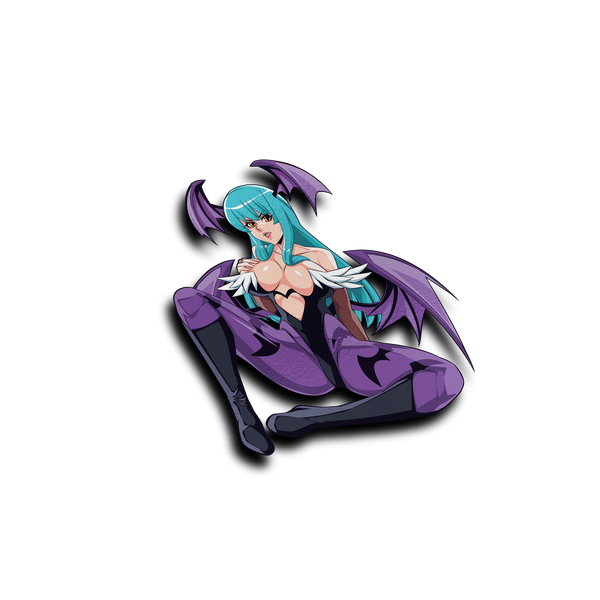 Morrigan Aensland Waifu Sticker